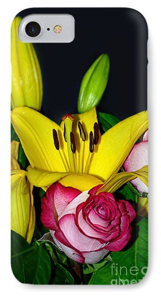 Colorful Bouquet By Kaye Menner IPhone Case by Kaye Menner