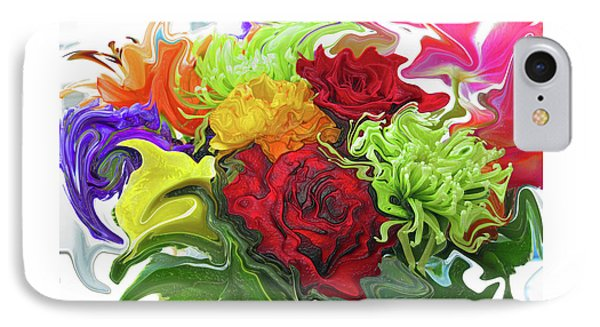 Colorful Bouquet Phone Case by Kathy Moll