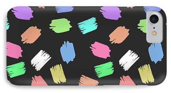 Colorful Brush  IPhone Case