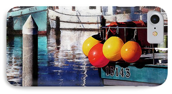 Colorful Buoys IPhone Case by Danuta Bennett