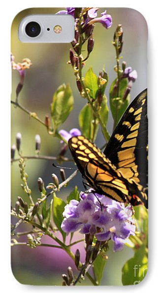 Colorful Butterfly IPhone Case by Carol Groenen