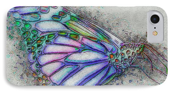 Colorful Butterfly IPhone Case by Jack Zulli