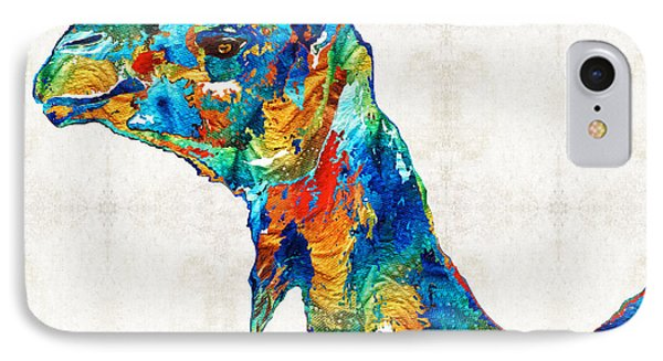 Colorful Camel Art By Sharon Cummings IPhone 7 Case