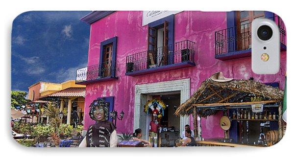 Colorful Cancun Phone Case by Douglas Barnard