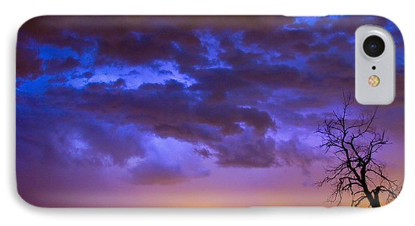Colorful Cloud To Cloud Lightning Phone Case by James BO  Insogna