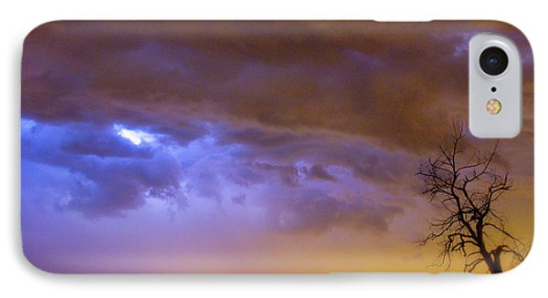 Colorful Cloud To Cloud Lightning Stormy Sky Phone Case by James BO  Insogna