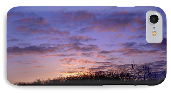 IPhone Case featuring the photograph Colorful Clouds In The Sky by Kent Lorentzen