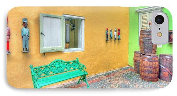 Colorful Corner IPhone Case by Nadia Sanowar