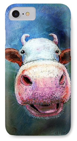 Colorful Cow  IPhone Case