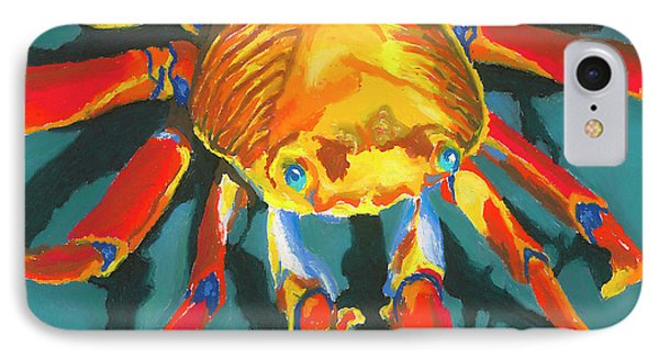 Colorful Crab II Phone Case by Stephen Anderson