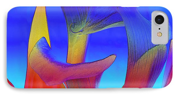 Colorful Crowd Phone Case by Michelle Wiarda