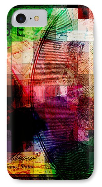 IPhone Case featuring the photograph Colorful Currency Collage by Phil Perkins