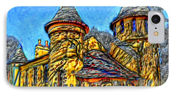 Colorful Curwood Castle IPhone Case by Bruce Nutting