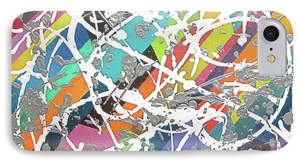 Colorful Disaster Aka Jeremy's Mess Phone Case by Jeremy Aiyadurai