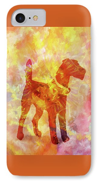 Colorful Dog IPhone Case