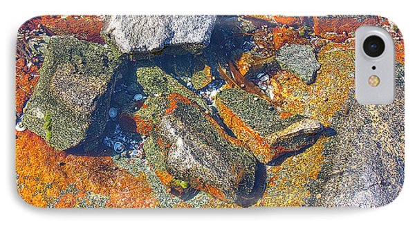 Colorful Earth History Phone Case by Heiko Koehrer-Wagner