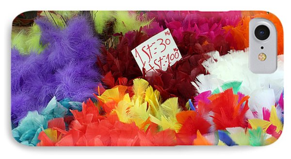 Colorful Easter Feathers IPhone Case