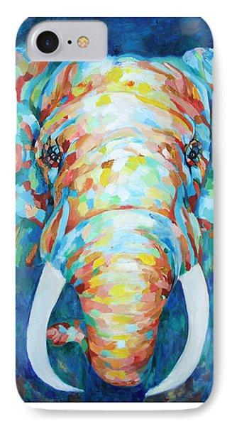 Colorful Elephant IPhone Case by Enzie Shahmiri