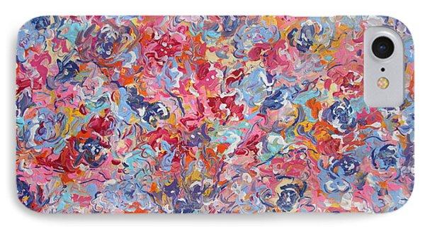 Colorful Floral Bouquet. IPhone Case
