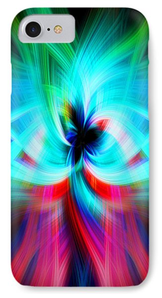 Colorful Flower IPhone Case by Cherie Duran