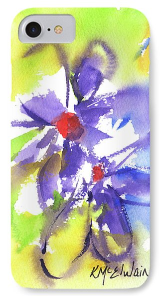 Colorful Flower IPhone Case by Kathleen McElwaine