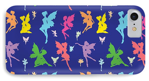 Colorful Flying Fairy IPhone Case by Naviblue