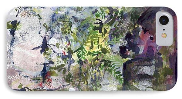 Colorful Foliage IPhone Case