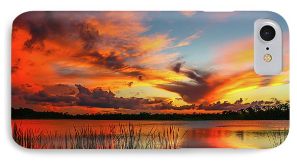 Colorful Fort Pierce Sunset IPhone Case