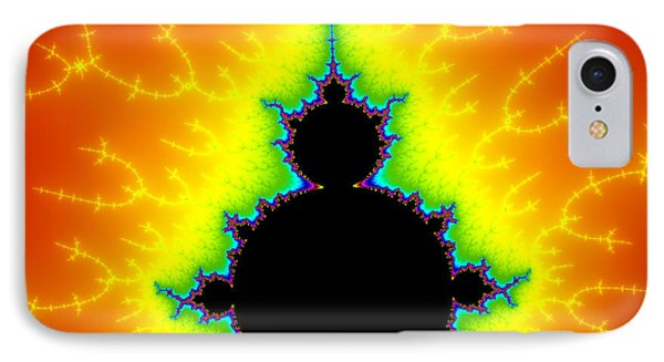 Colorful Fractal Art - Mandelbrot Set With Power IPhone Case by Matthias Hauser