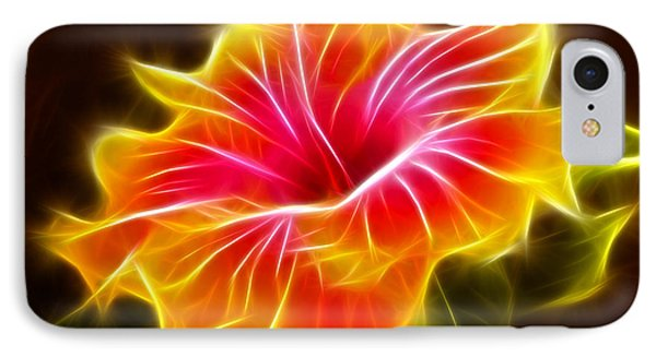 Colorful Hibiscus Flower IPhone Case