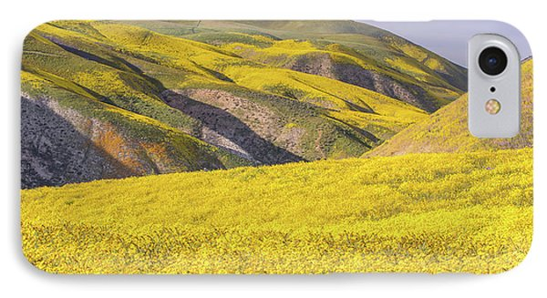 IPhone Case featuring the photograph Colorful Hill And Golden Field by Marc Crumpler
