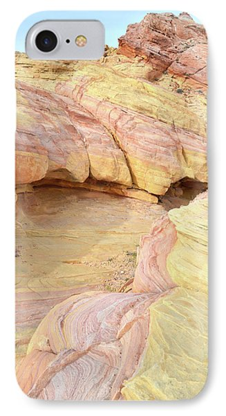IPhone Case featuring the photograph Colorful Hilltop In Valley Of Fire by Ray Mathis