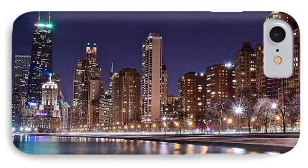 Colorful Lakefront Image IPhone Case by Frozen in Time Fine Art Photography