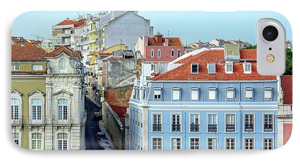 IPhone Case featuring the photograph Colorful Lisbon by Marion McCristall