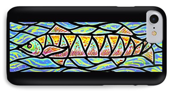 Colorful Longfish IPhone Case by Jim Harris