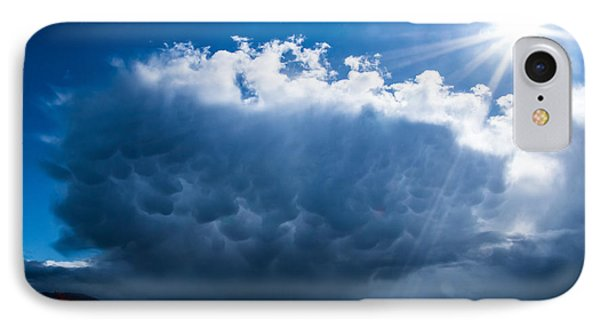 Colorful Mammatus Cloud IPhone Case by Mick Anderson