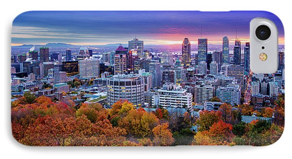 IPhone Case featuring the photograph Colorful Montreal  by Mircea Costina Photography