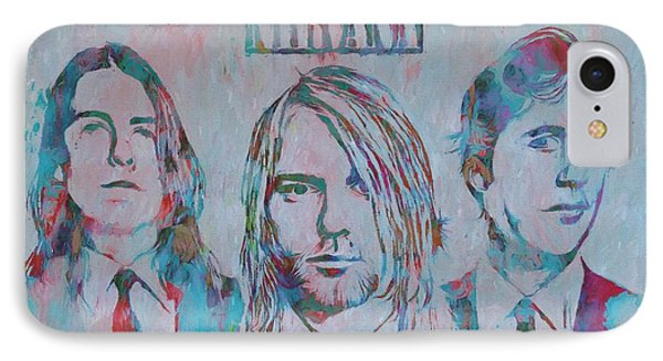 Colorful Nirvana Grunge IPhone Case by Dan Sproul