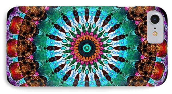 Colorful No. 9 Mandala Phone Case by Joy McKenzie