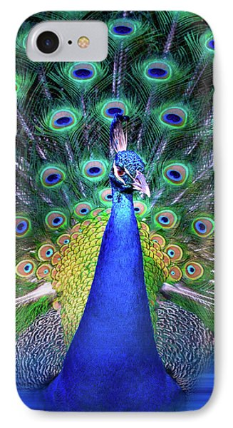 Colorful Peacock IPhone Case