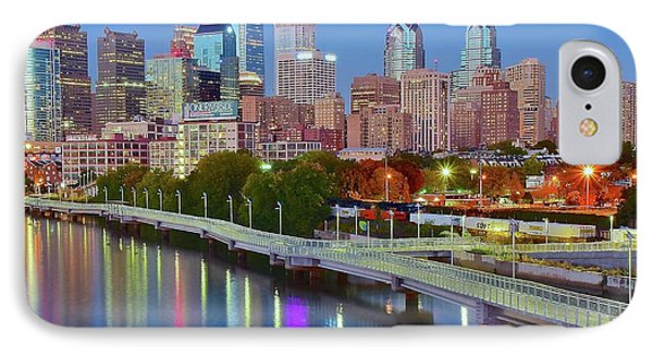 Colorful Philly Lights IPhone Case