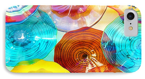 Colorful Plates Phone Case by Artist and Photographer Laura Wrede