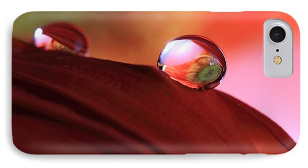 Colorful Reflections IPhone Case by Angela Murdock