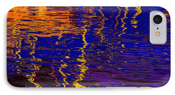 Colorful Ripple Effect IPhone Case by Danuta Bennett