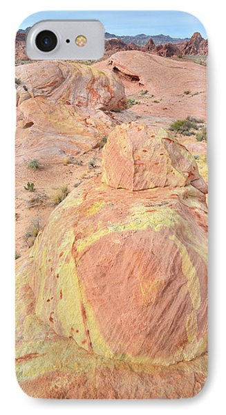 IPhone Case featuring the photograph Colorful Sandstone In North Valley Of Fire by Ray Mathis