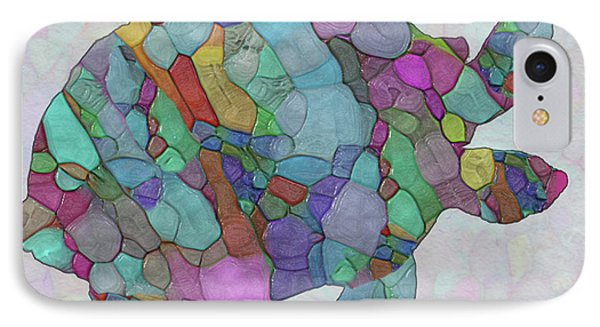 Colorful Sea Turtle IPhone Case by Jack Zulli