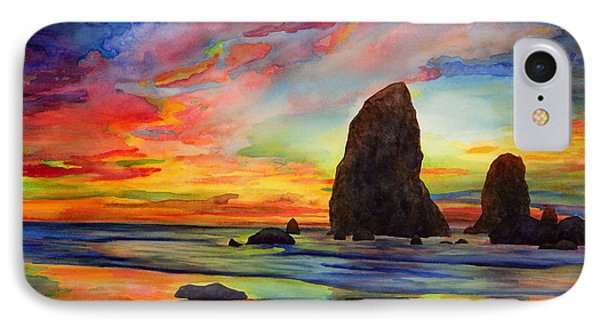 Pacific Ocean iPhone 7 Case - Colorful Solitude by Hailey E Herrera