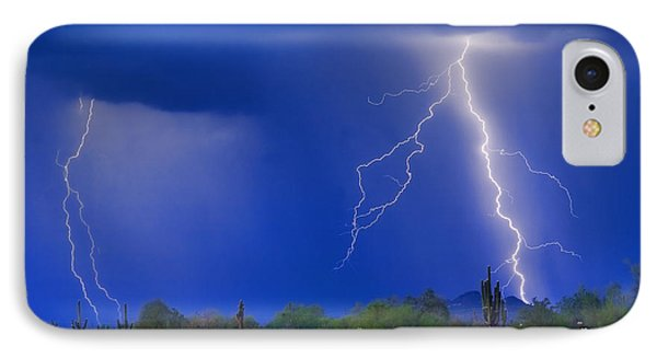 Colorful Sonoran Desert Storm Phone Case by James BO  Insogna
