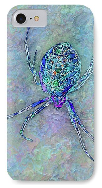 Colorful Spider IPhone Case by Jack Zulli