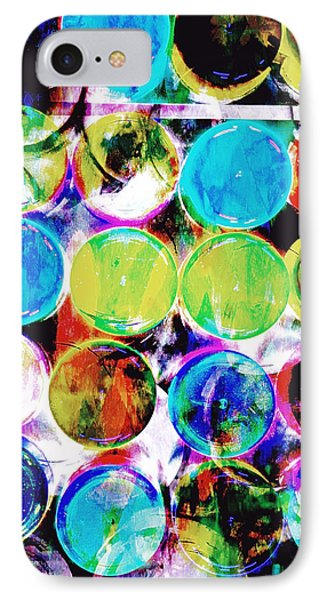 Colorful Spotty Abstract IPhone Case